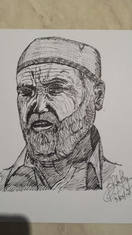 old man by bfmm7777 | Artowrk