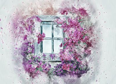 Flower window | Sirianan | Digital Drawing | PENUP