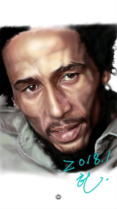 Bob Marley. | honey | Digital Drawing | PENUP