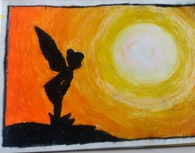 sunset fairy | Ishrah_khan.T | Digital Drawing | PENUP