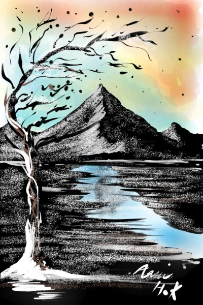 mountain | Payman_6 | Artwork | PENUP
