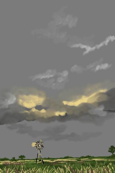 An imperfect storm | AntoineKhanji | Digital Drawing | PENUP
