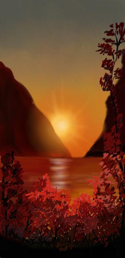 sunset | Hanne | Artwork | PENUP
