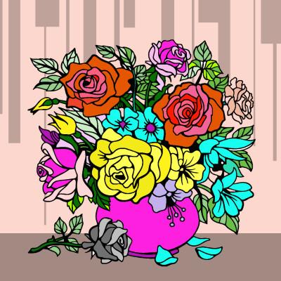 Every rose has it's Thorne  | ChrisPBacon | Digital Drawing | PENUP