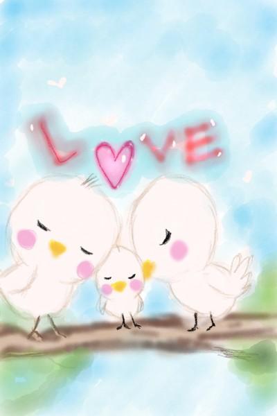 3 little birds | kitt | Artwork | PENUP