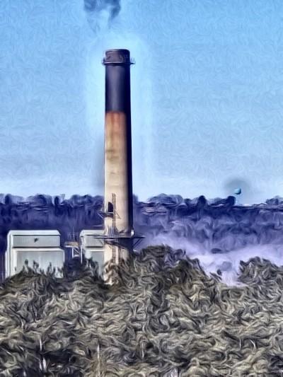 Gadsden Steam Plant | Charldia | Digital Drawing | PENUP