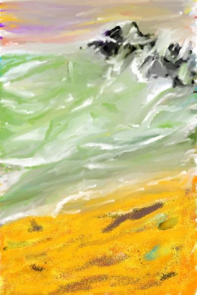The beach! | Nick | Digital Drawing | PENUP