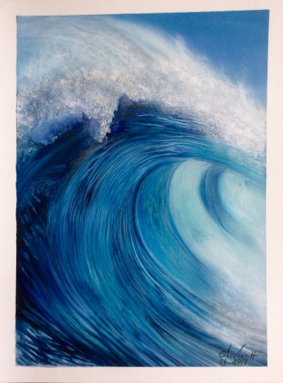 wave | artgraphit | Digital Drawing | PENUP