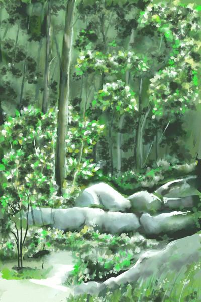 Landscape Digital Drawing | koo | PENUP