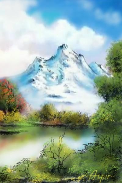 Landscape Digital Drawing | Aspin | PENUP