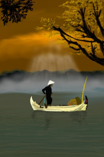 desolate alone.. | flavin_and_juan | Digital Drawing | PENUP