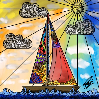 Sky Colors | ZeeshanAbid | Digital Drawing | PENUP