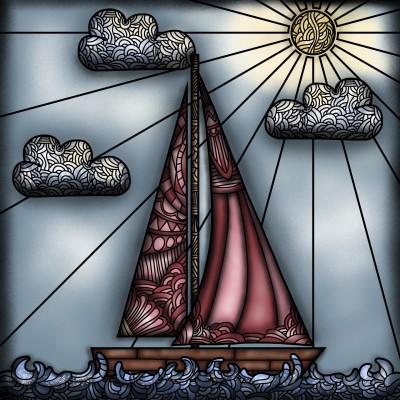 Sailing  | Dani | Digital Drawing | PENUP