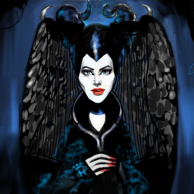 Maleficent's sister?? | Nokhong | Artwork | PENUP