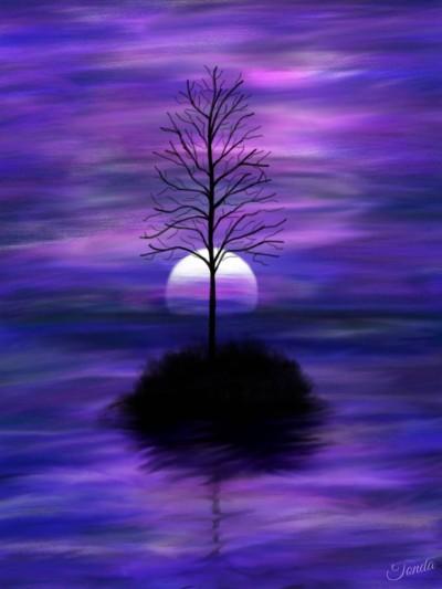 Purple Sky   Tonda   Artwork   PENUP
