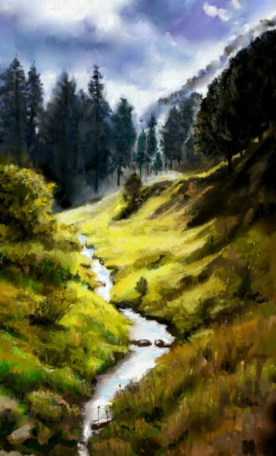 Landscape Artwork | koo | PENUP