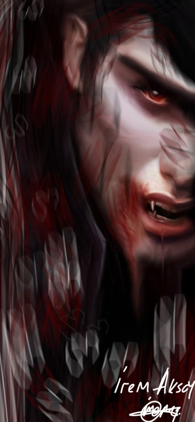 Vampire ❤️  | IREM.Aksoy | Digital Drawing | PENUP