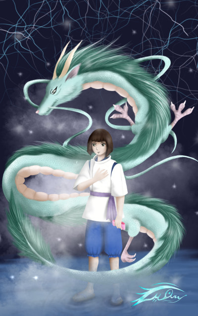 Spirited away in my style lol | i.mary | Artwork | PENUP