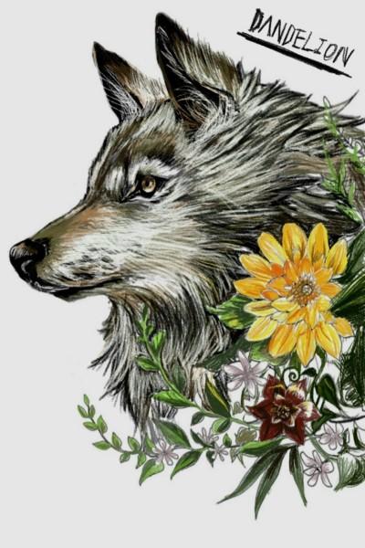 Wolf  | -DANDELION- | Artwork | PENUP