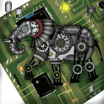 ELEPHANT  | ramdan1111 | Artwork | PENUP
