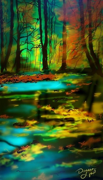Autumn Trees   missdarrian   Artwork   PENUP