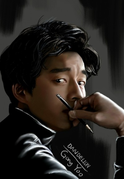 Gong Yoo  | -DANDELION- | Digital Drawing | PENUP