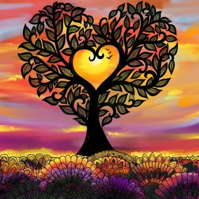 ♡ 나무.. ♡ tree.. | mjyoo | Artwork | PENUP