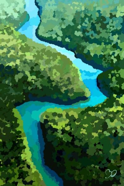 Amazon River | Sina | Digital Drawing | PENUP