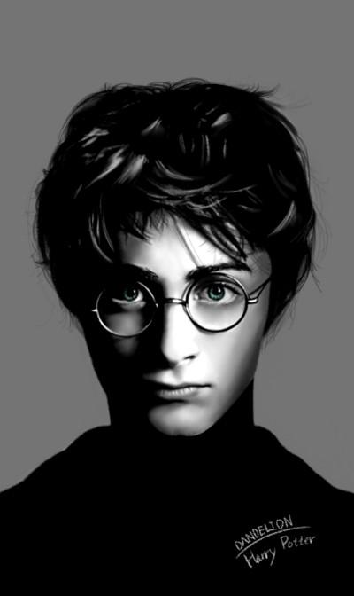 Harry Potter  (Hand drawing)   -DANDELION-   Digital Drawing   PENUP