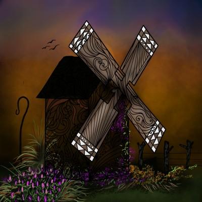windmill | ramdan1111 | Digital Drawing | PENUP