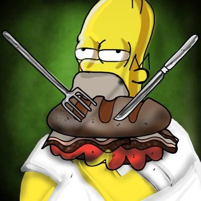 Homer Simpson  | ramdan1111 | Digital Drawing | PENUP