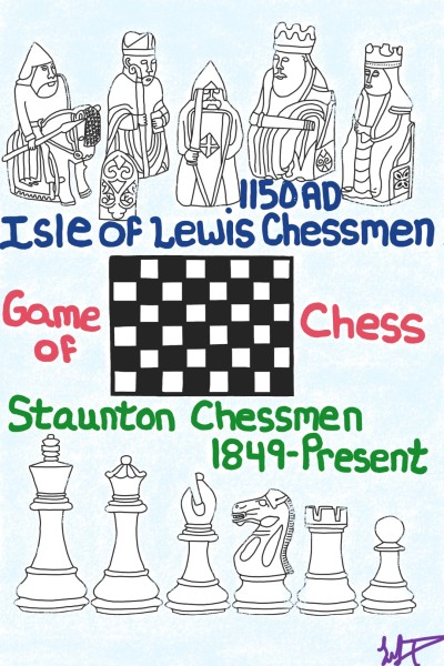 Chess past & present    MelissaNJP   Digital Drawing   PENUP