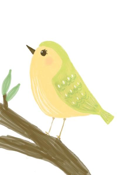 A little birdie ♡ | Sylvia | Digital Drawing | PENUP